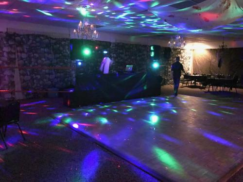 Dance floor lights