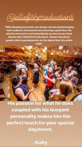 Testimony dance floor